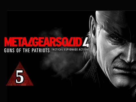 Metal Gear Solid 4 Walkthrough - Part 5 Rat Patrol Let's Play Mgs4 Gameplay Commentary video