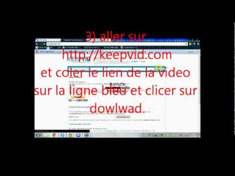video 1 apprendre a enregistrer une video de youtube.wmv