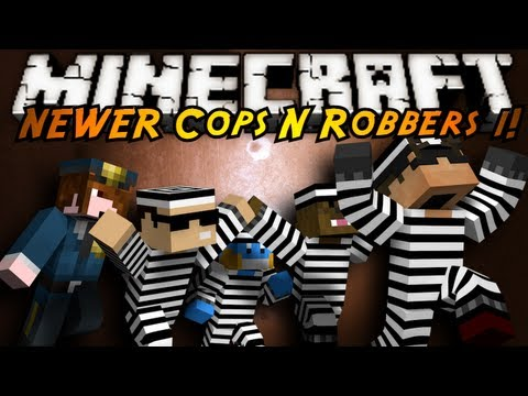 Minecraft Mini Game : COPS N ROBBERS 3.0 ROUND ONE