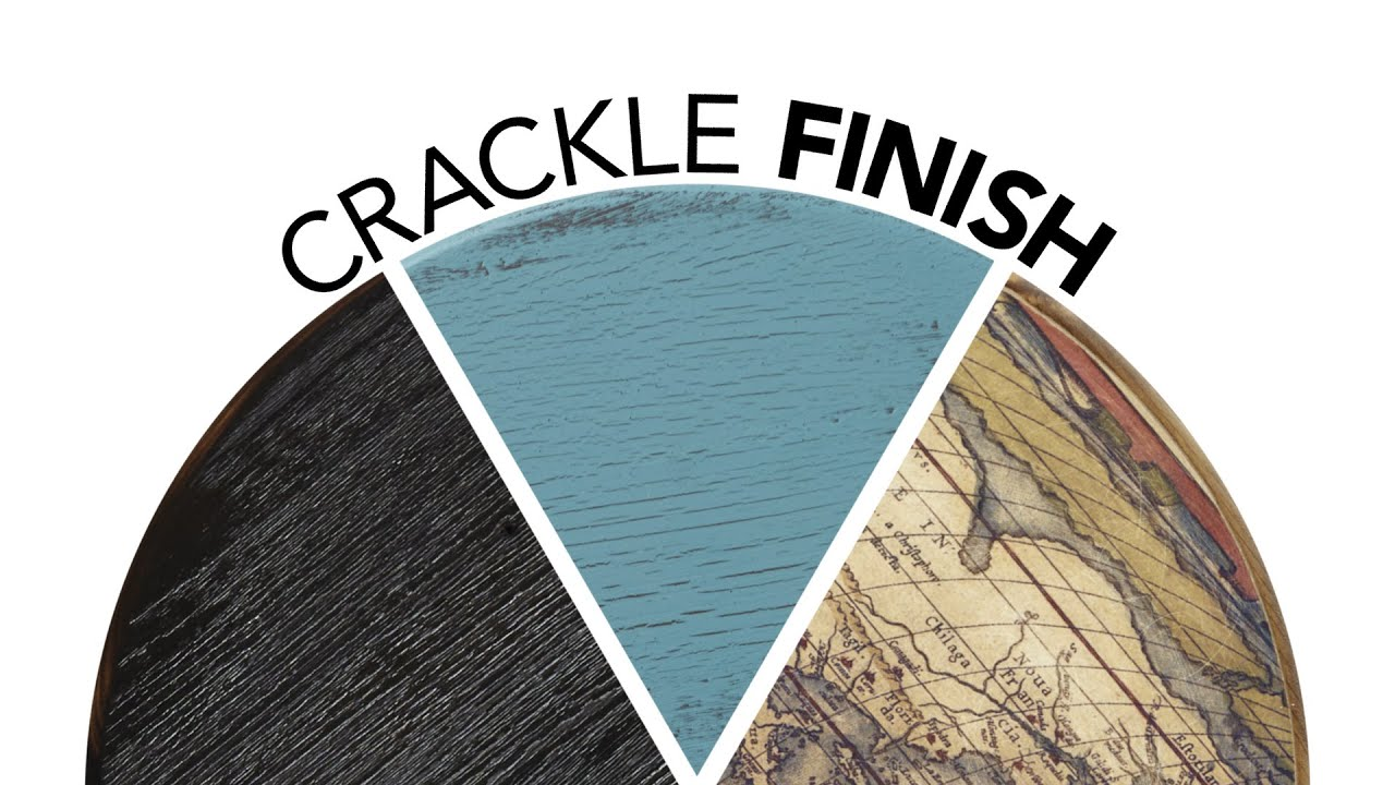 crackle paint finish youtube. Black Bedroom Furniture Sets. Home Design Ideas