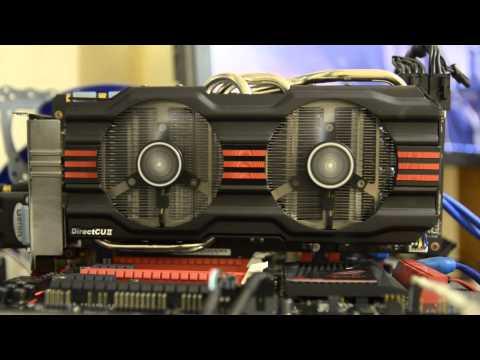 ASUS GeForce GTX 770 DirectCU II Noise test