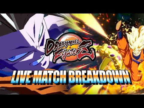 HIGH LEVEL DRAGONBALL FIGHTERZ - Gameplay Breakdown w/Maximilian
