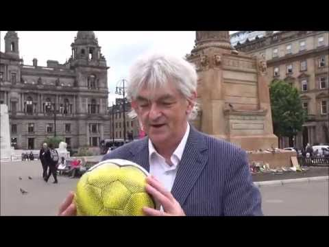 Mel Young on the Homeless World Cup Fairtrade Ball