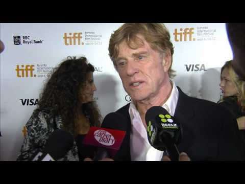Robert Redford And Jackie Evancho At TIFF 2012 For The Company You Keep