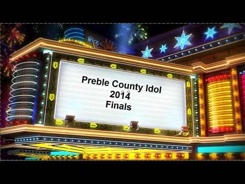 Preble County Idol 2014