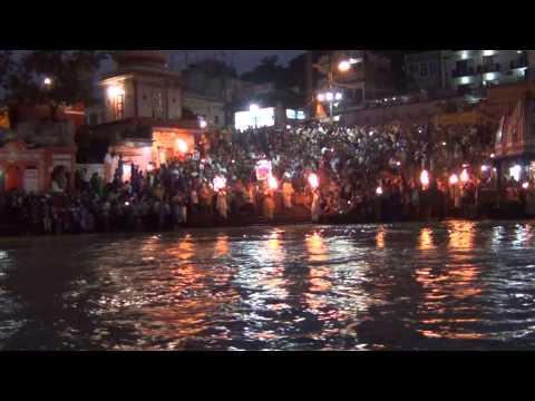 Maa Ganga Aarti Live in Haridwar Haridwar Ganga Aarti