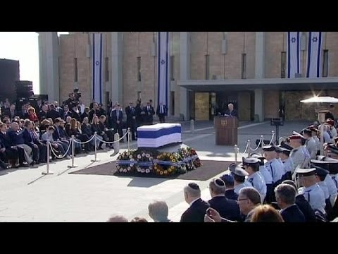 The world says its last goodbyes to Ariel Sharon