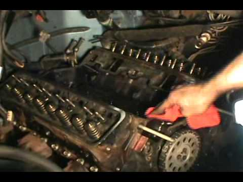 part 4. Vortec 5.7 350 head gasket. water pump & timing chain replacement. Chevy/ GMC