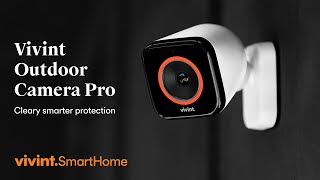 Vivint Outdoor Camera Pro - HD Surveillance Camera with Lurker Detection