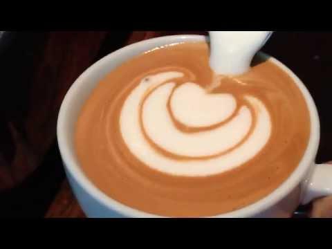 Como hacer latte art