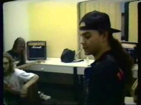 ALICE in CHAINS 1991 Mike Starr, Layne Staley, Jerry Cantrell Nurnburg with Megadeth-OBSSmedia.wmv