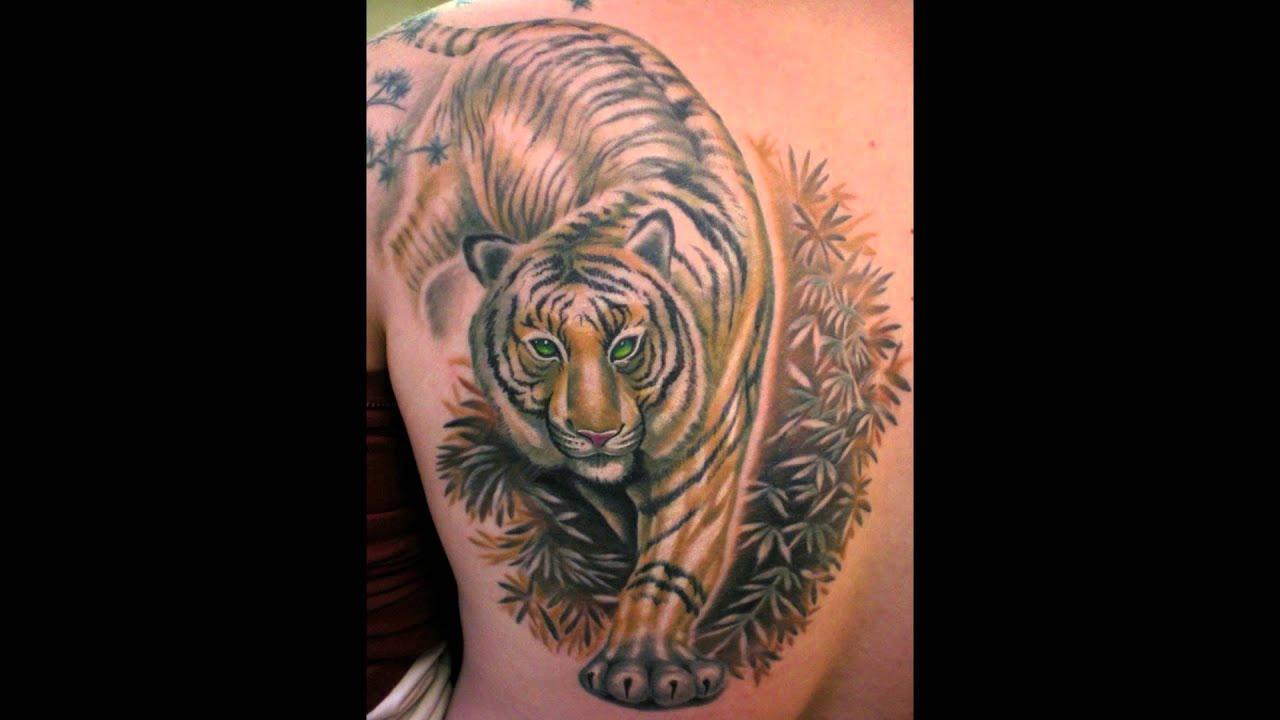 Значение татуировок тигров