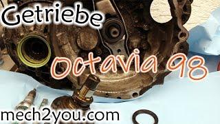 🛠️ Kupplung auf defekt prüfen und Wellendichtring am Getriebe ausbauen | Skoda Octaiva AGN CZM