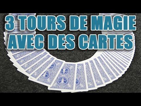 Explications de tours de magie avec des cartes - révélations d'un grand magicien
