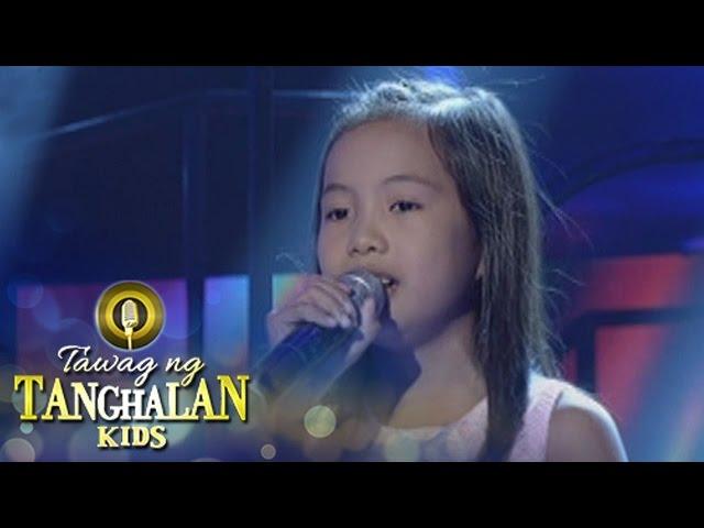 Tawag ng Tanghalan Kids: Alexis Cassandra Cayanga | Hulog Ng Langit