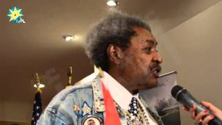 Don King In Cairo Promoting Egypt Destinations