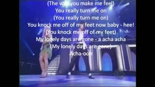 Michael Jackson & Britney Spears - The way you make me feel lyrics