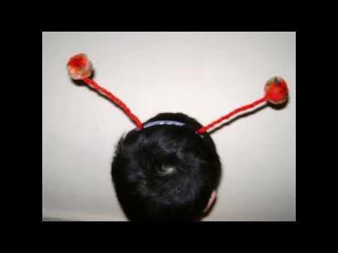 Como hacer cintillo con antenitas