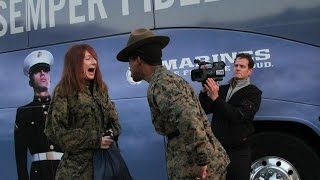 Teachers Meet Drill Instructor - Civilian Experience the United States Marine Corps Recruit Training