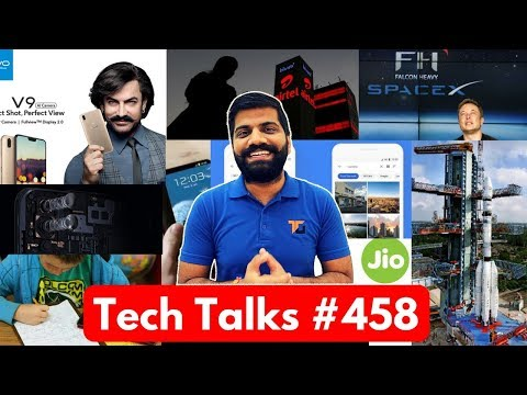 Tech Talks #458 - Vivo V9, Cheap iPad, AirTel Free 30GB, ISRO Launch, Samsung J7 Prime 2