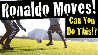 Learn Amazing Soccer Skills: Cristiano Ronaldo Moves | F2Freestylers