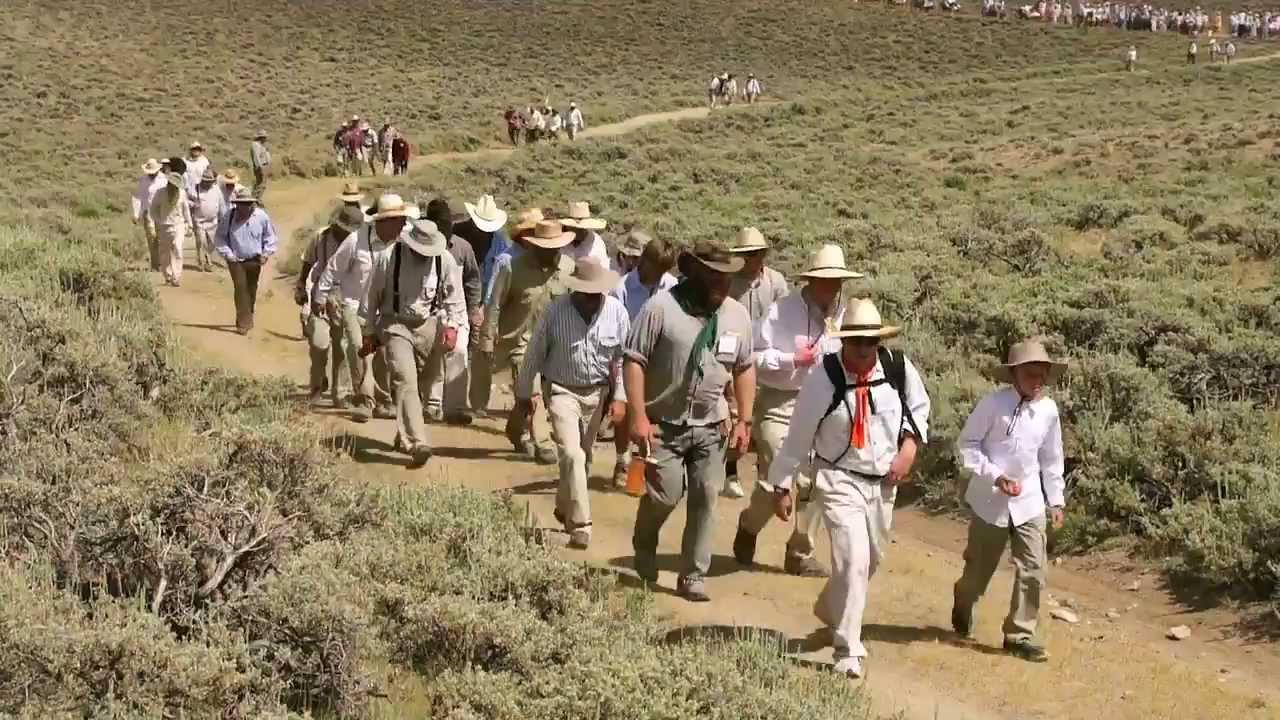 Riverton Wyoming Stake Handcart Trek 2012 Youtube