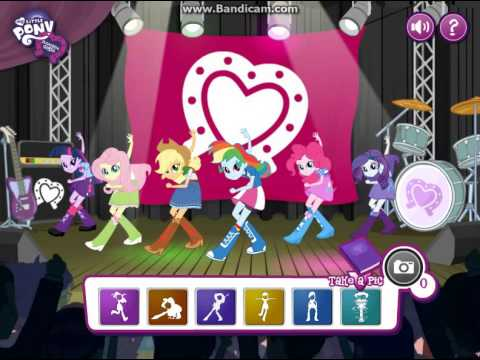 my little pony equestria girls dance game full game youtube