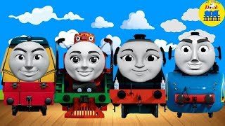 WRONG HEADS FOR CHILDREN Thomas and friends NEW CARTOON VIDEO BABY SHARK SONG Nursery Rhyme
