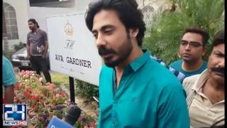 Actress Noor get verbal fight with his husband Wali