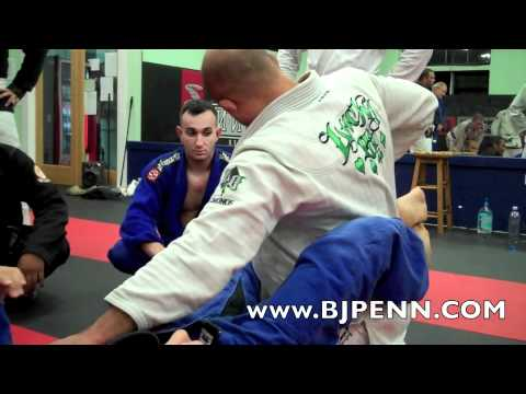 BJ Penn Teaches the Most Basic BJJ Guard Pass Image 1