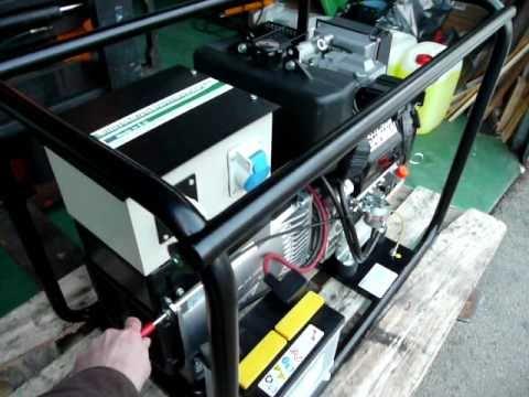 10kVA (8kW) Lombardini SLL1010   230V - 50Hz - 3.000U/min