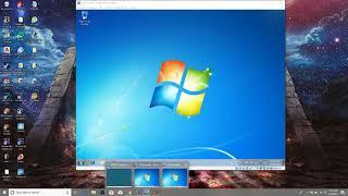 Como compartir una carpeta de windows server a windows 7 en maquina virtual.