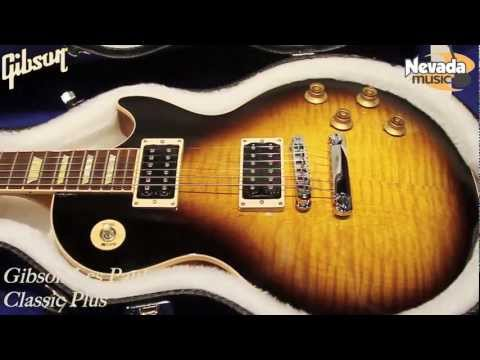 Gibson Les Paul Classic Plus Vintage Sunburst - Quick Look @ Nevada Music UK