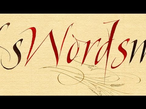 Rhythmic Calligraphy How To Save Money And Do It Yourself