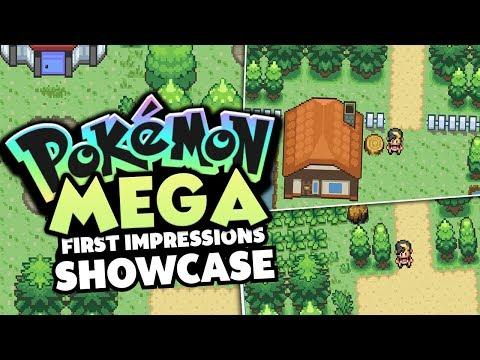Pokemon Mega - Pokemon Rom Hack Review/Showcase (THIS GAME IS PRETTY GREAT!?)