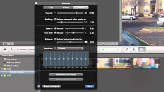 How To_ iMovie - Editing Audio