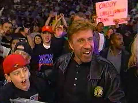 Chuck Norris - WCW Monday Nitro - 1999
