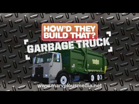 How'd They Build That? GARBAGE TRUCK in HD! Video