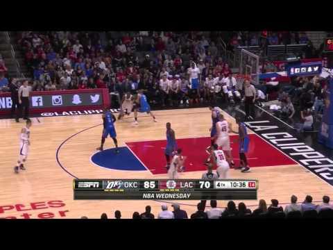 Clippers comeback vs Thunder 3/2/16