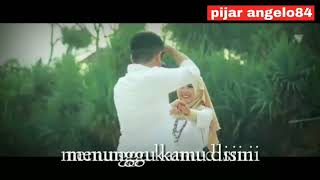 Anji - menunggu kamu (cover eclat)  lyric video cinematic editing Kinemaster