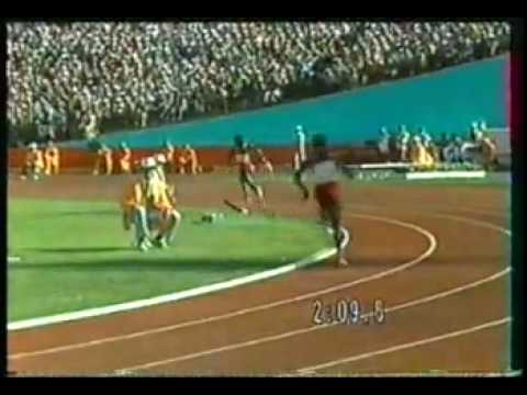 1984 Olympics 4 x 400 Women Final.flv