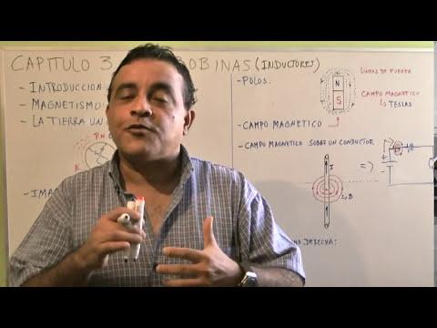 Aprendamos Electrónica Juntos - Cap 3 - La Bobina - Teoría Imanes - Campos Magneticos - Parte2