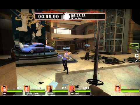 Left 4 Dead 2 (An Ellis Special) Gameplay