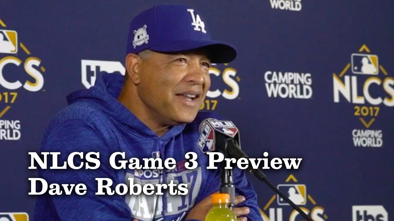 Dave Roberts On Lineup Changes in NLCS Game 3 | Los Angeles Times