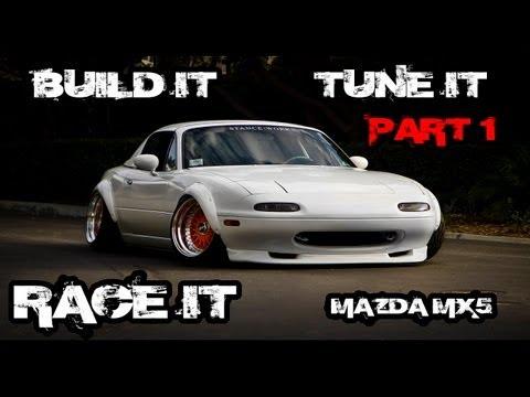Forza 4 - Build it Tune it Race it Mazda MX5 EP 1