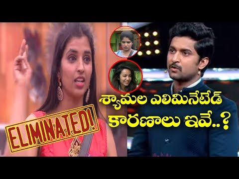 Anchor Shyamala Eliminated From Bigg Boss Telugu Season 2 | Nani | Film Jalsa
