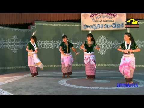 Manipuri Folk Dance By Dr S . Murali Babu video