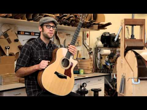 Taylor Guitars Spring 2012 Limiteds with Andy Powers