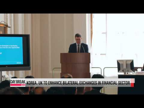 Korea, UK to enhance bilateral cooperation in the financial sector