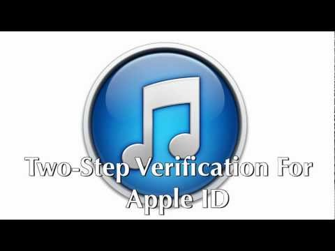Two-Step Verification For Apple ID